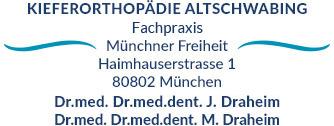 Adresse Draheim Kieferorthopädie Münchner Freiheit